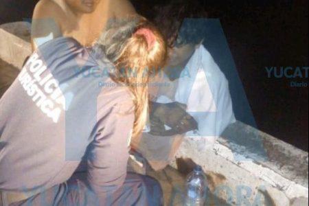 Joven pescador salva de morir ahogada a una mujer alcoholizada