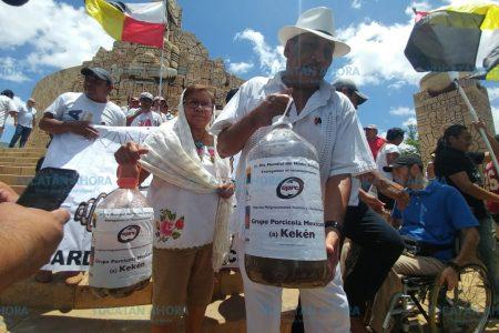 Kekén, 'empresa peligrosamente racista y contaminante': pueblo maya