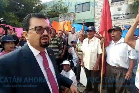 Ejidatarios de Chocholá acusan también a magistrado agrario