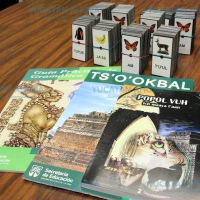 Se robaron libros de texto en maya y ahora los venden por internet