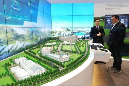 Piden a Huawei que tome a Mérida como modelo de ciudad inteligente