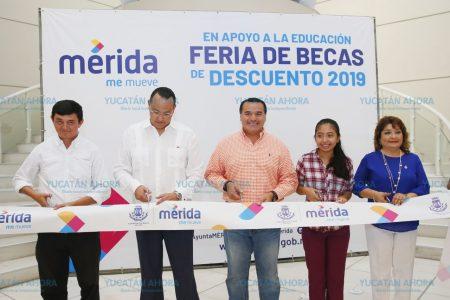 Facilitan a los meridanos el acceso a la educación