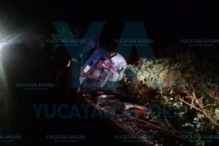 Trágica volcadura: muere aplastado chofer de pipa