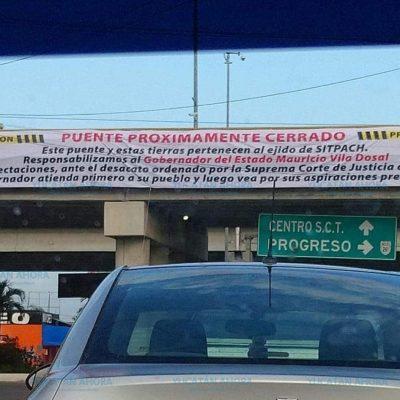 Cerrarán puente del Periférico, por deuda del rolandismo
