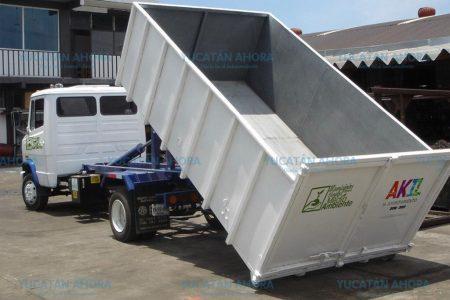 Modernizan sistema de limpieza en municipios de Yucatán