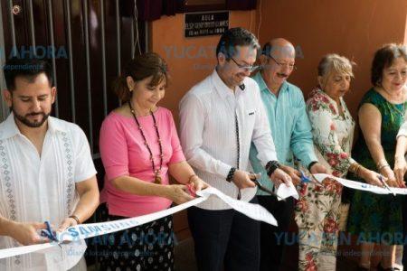 Samsung equipa aula en primaria del centro de Mérida