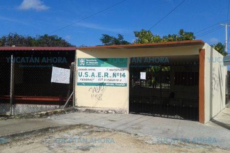 Saquean escuela primaria en el norte de Mérida