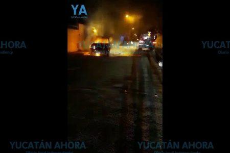 Madrugador incendio en Xoclán Rejas