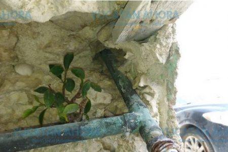 Descubren robando agua potable a ex síndico de Progreso