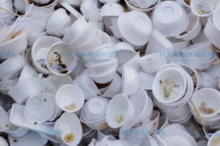 En Yucatán es plástico más de la mitad de la basura