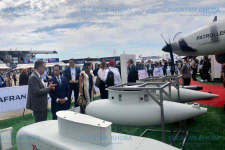 Yucatán, presente en la Exposición Aeroespacial de París