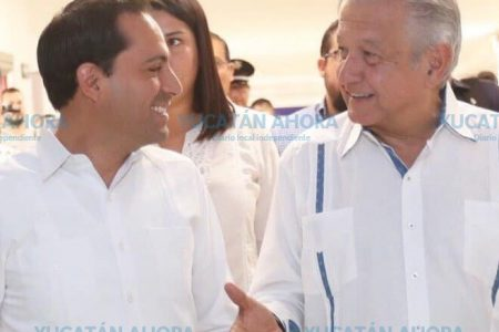 López Obrador inicia su tercera visita a Yucatán