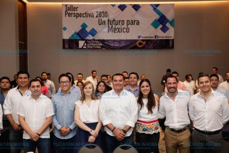 Renán Barrera destaca papel de los jóvenes en la formación ciudadana