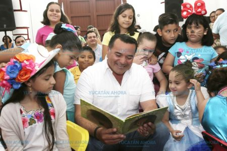 Una Mérida que lee es una ciudad de paz y cultura