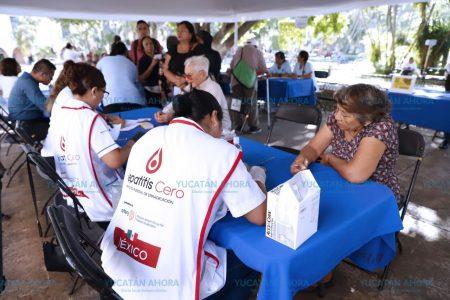 Pruebas gratis de hepatitis C en Feria de la Salud de la Plaza Grande