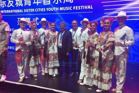Brilla Mérida en el Festival Internacional de Música en Chengdú