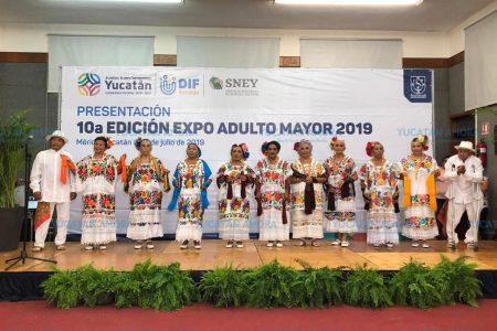 Suman nuevos servicios a la Expo Adulto Mayor 2019