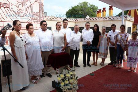José León Bojórquez reposa en el Monumento de la Canción Yucateca