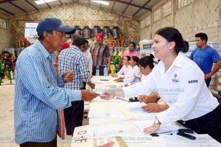 Más productores yucatecos se benefician con el programa Peso a Peso