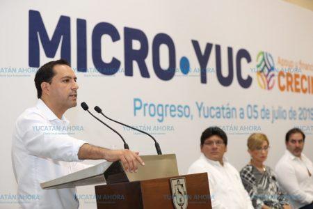 Mauricio Vila presenta MicroYuc, detonante de nuevos negocios