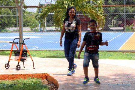 La parálisis no los detuvo… ni a él ni a su madre