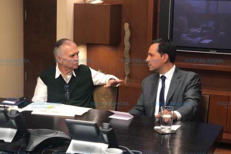Más proyectos para Yucatán: se reúnen Mauricio Vila y Alfonso Romo