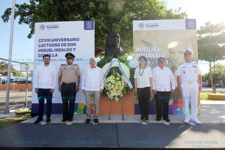 Llamado a retomar los ideales de Miguel Hidalgo
