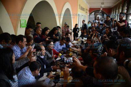 No nos vamos a bajar de la contienda: Ivonne Ortega
