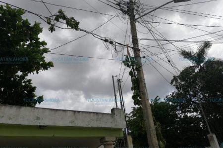 Ya se pasó la CFE en su 'simulacro de huracán', denuncian meridanos