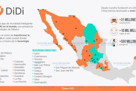 DiDi se prepara para operar en 13 ciudades más de México