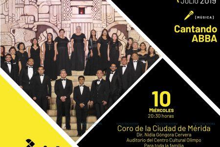 La música de Abba con el Coro de la Ciudad en la Temporada Olimpo