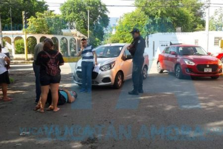 Atropella a una abuelita al no respetar un paso peatonal en Chuburná