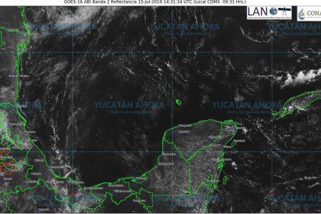 El clima, sin novedad: calor y más calor en Yucatán