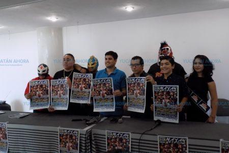 Este domingo 21 de julio hay lucha libre con el Mayan Wrestling