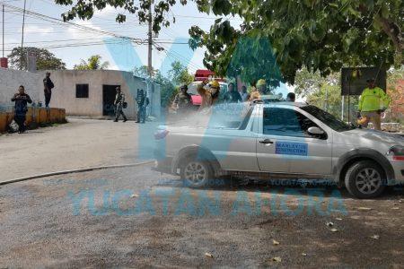 Policías de la Guardia Nacional detectan fugas en unos tanques y evitan desastre