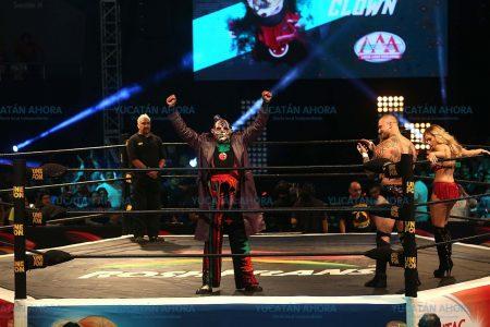 La lucha libre Triple A regresa a Mérida