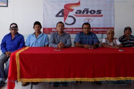 Campesinos piden no ser discriminados de los apoyos
