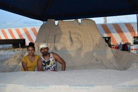 Aprende a hacer esculturas de arena, en el Beach Festival El Cuyo 2019