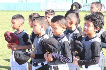 Inauguran torneo de iniciación de béisbol en la Liga Yucatán