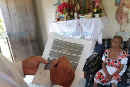 La CFE cancela recibo de 8,031 pesos a doña Casiana de Poxilá