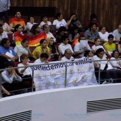 Diputados yucatecos rechazan de nuevo el matrimonio igualitario