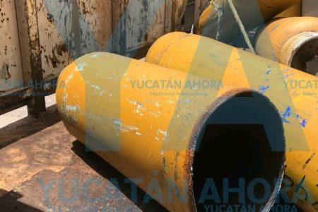 Se desfonda tanque de gas: dos empleados de Tomza quemados