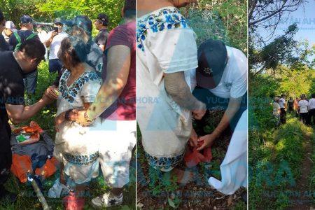 Encuentran a abuelita extraviada: durmió en el monte y no lo recuerda