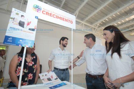 Llevan créditos de MicroYuc a emprendedores del sur de Yucatán