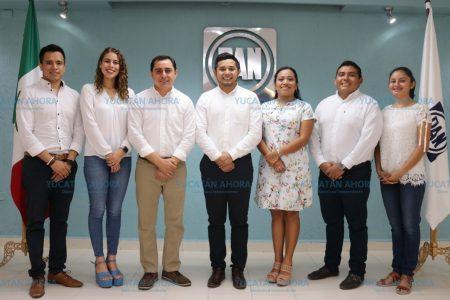 Nuevo líder juvenil en el PAN de Yucatán