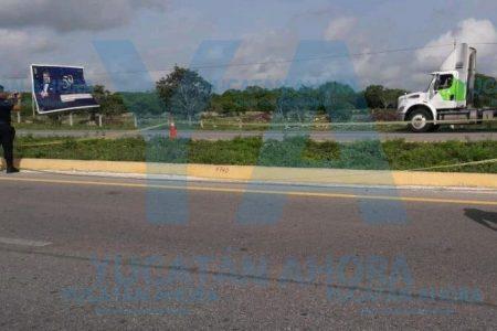 Lo encuentran muerto en la carretera Mérida-Campeche