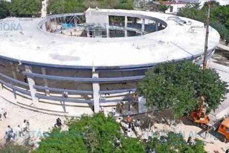 El Museo del Cráter de Chicxulub, listo en septiembre