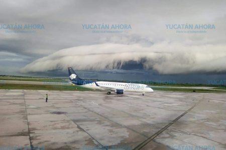 Las roll cloud o nubes rodillo, fenómeno pocas veces visto