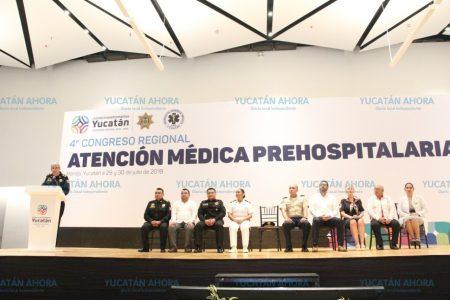 Paramédicos de Yucatán, cada vez más profesionalizados