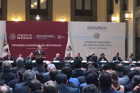 El trabajo coordinado, vital para la seguridad: Renán Barrera
